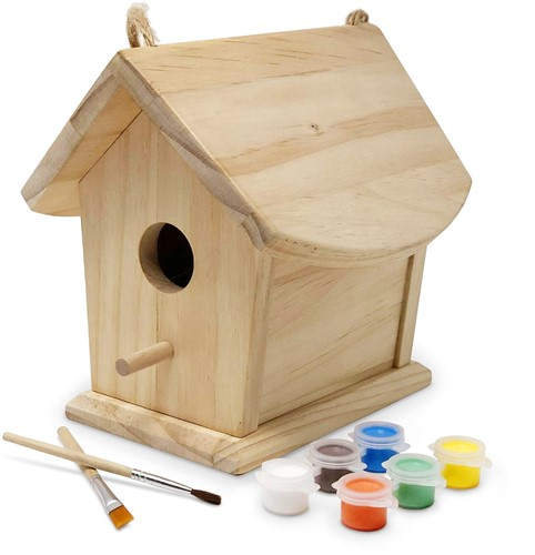 Kinderfeets Birdhouse with paint