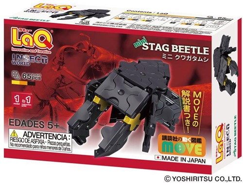 LaQ Insect World Mini Stag Beetle