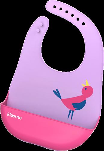 KidsMe Easy Clean Bib-Lavender