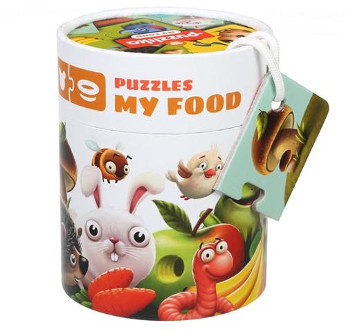 Puzzlika Puzzel - Wat Eten Dieren - 10x 2 stukjes