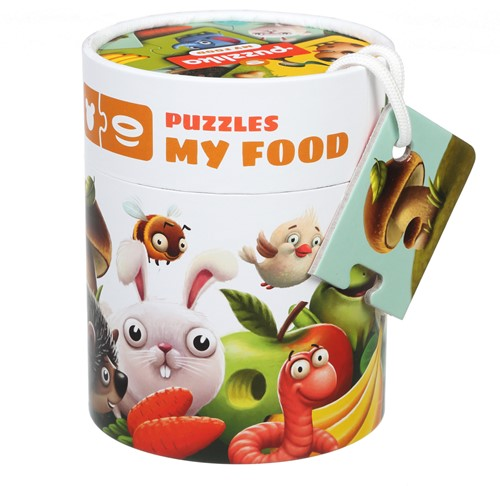 "Puzzlika puzzle """"My food"""""