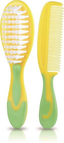 KidsMe Wind Curve Comb and Brush Set
