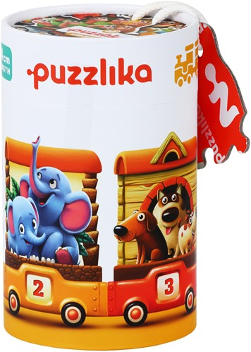 Puzzlika Puzzel - Dieren Trein