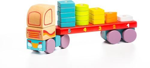 Cubika houten vormen transporter