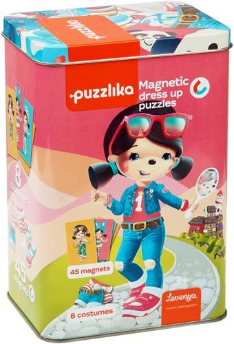 Puzzlika Magnetische Puzzel - Dress Up - 53 stukjes