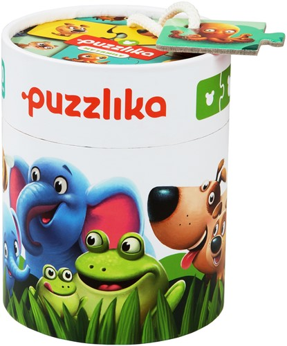 Puzzlika Puzzel - Wie Hoort Bij Wie 10x2 stukjes