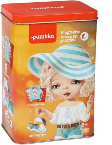 Puzzlika Magnetische Puzzel - Dress Up 3
