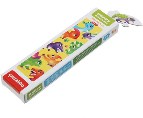 "Puzzlika puzzle 8 in 1 """"Happy dinosaurs"""""