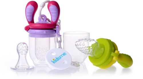 KidsMe Food Feeder Start Pakket - Groen/Blauw