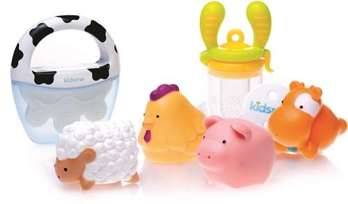 KidsMe Welcome Baby Gift Set (9650-1 set/9655-1 pc/160350LI-1pc/160464-1pc)