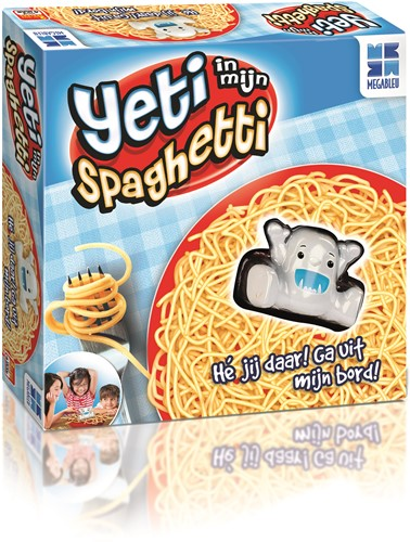 Megableu spel Yeti in mijn spaghetti