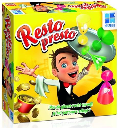 Megableu spel Resto Presto NL