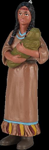 Mojo Fantasy - Indiaanse Moeder Met Baby 386502
