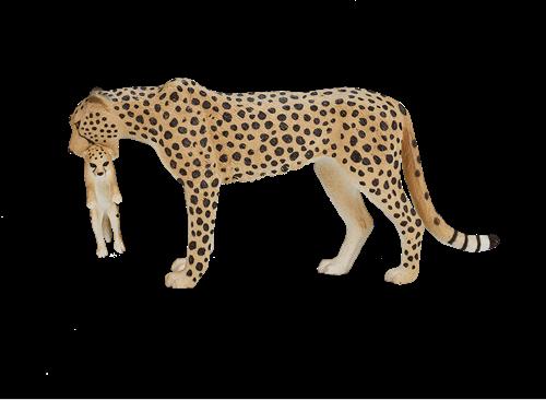 Mojo Wildlife - Cheetah Vrouwtje Met Welp 387167