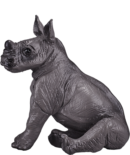 Mojo Wildlife - Neushoorn Baby Zittend 387257