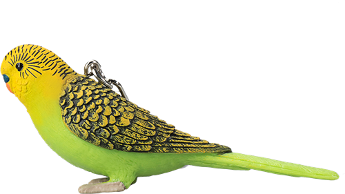 Mojo Farm & Pets Sleutelhanger - Grasparkiet Groen 387460
