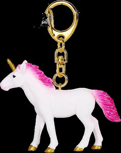Mojo Fantasy Sleutelhanger - Eenhoorn Felroze 387476