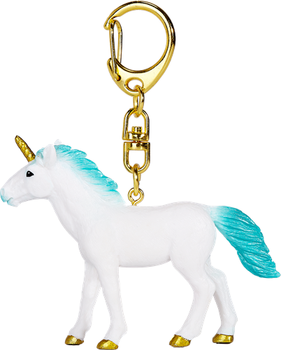 Mojo Fantasy Sleutelhanger - Eenhoorn Turquoise 387479