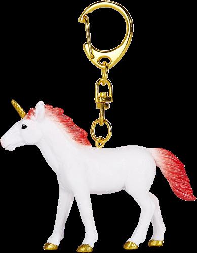 Mojo Fantasy Sleutelhanger - Eenhoorn Staand Rood 387481