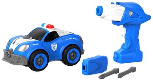 Edushape DIY Big Job Truck + remote control( battery)Police Squad