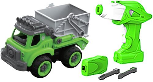 Edushape DIY Big Job Truck + remote control( battery)Sanitation Squad