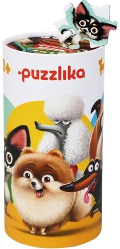 Puzzlika Puzzel - Honden - 4+4+5+6+8 stukjes