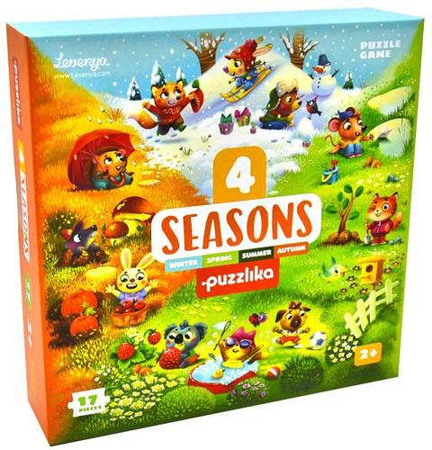 Puzzlika Puzzels - 4 seizoenen