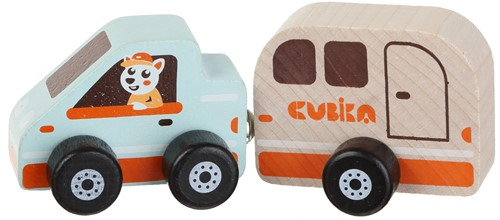 "Cubika Wooden toy """"House on wheels"""""