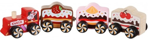 "Cubika Wooden toy - train """"Cakes"""""