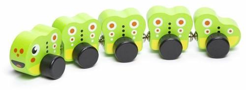 "Cubika Wooden toy """"Caterpillar"""""