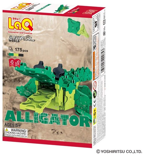 LaQ Animal World Alligator
