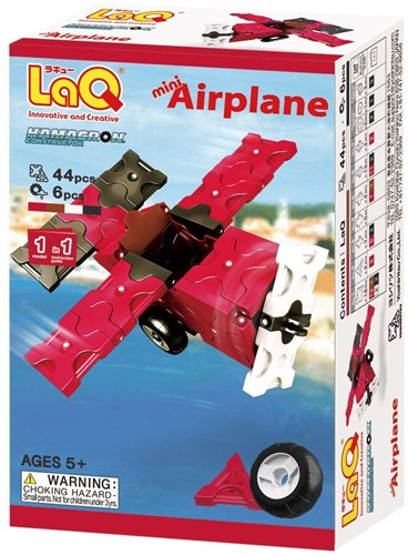 LaQ Hamacron Constructor Mini Airplane