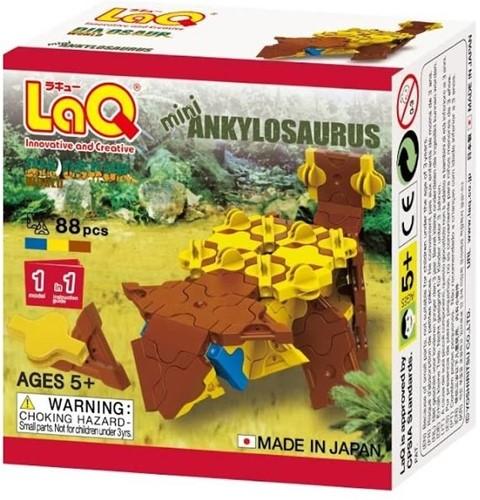 LaQ Dinosaur World Mini Ankylosaurus