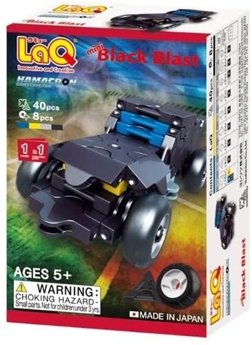 LaQ Hamacron Constructor Mini Black Blast
