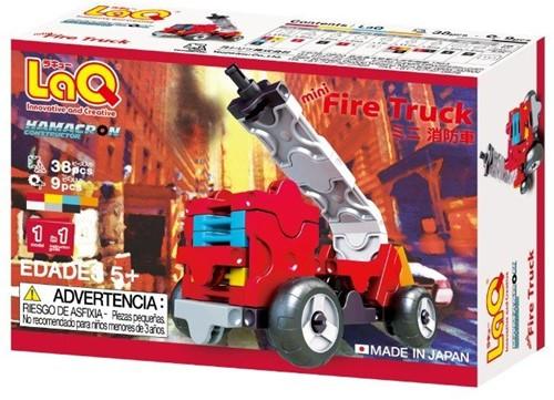 LaQ Hamacron Constructor Mini Fire Truck