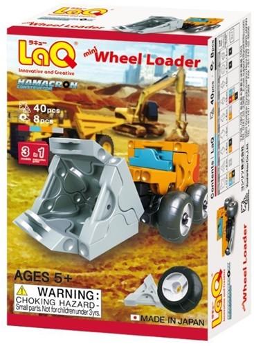 LaQ Hamacron Constructor Mini Wheel Loader