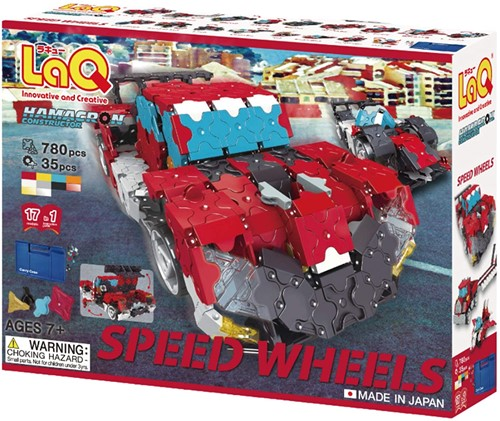 LaQ Hamacron Constructor Speed Wheels