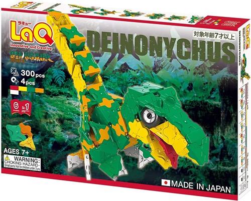 LaQ Dinosaur World Deinonychus