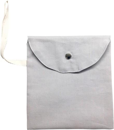 Masks for All GREY ECO BASICS Mask Bag with Snap Stud Close