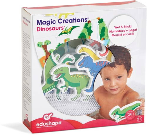 Edushape MAGIC CREATIONS - Dinosaurs- 13 pcs