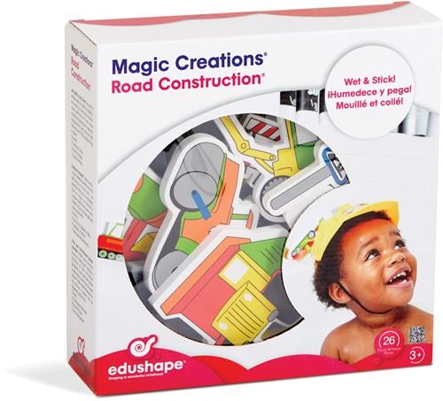 Edushape MAGIC CREATIONS-Road Construction