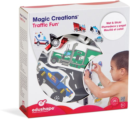 Edushape MAGIC CREATIONS-Traffic Set