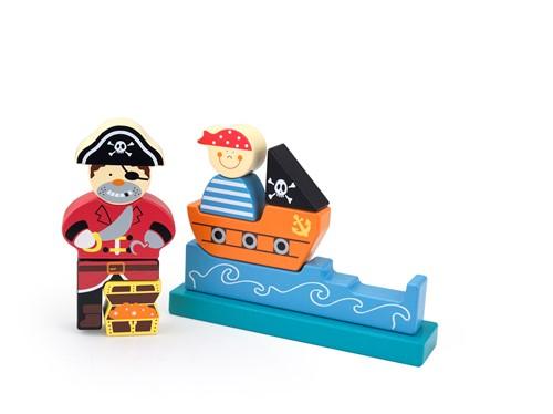 Edushape Magnetische Blokken - Piraat