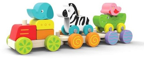 Edushape Happy Zoo Train