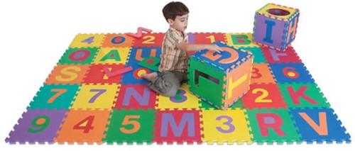 Edushape Edu-Tiles Letters & Numbers