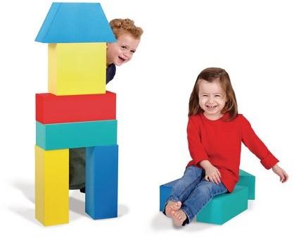 Edushape Giant Blocks - 16 pcs in pvc pack
