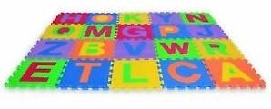 Edushape Edu-tegels Letters u/c