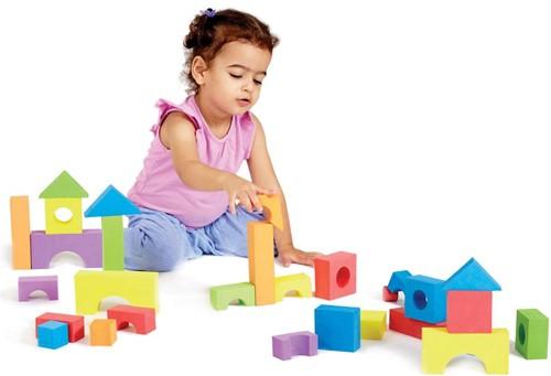 Edushape - 30 Kleurrijke Blokken
