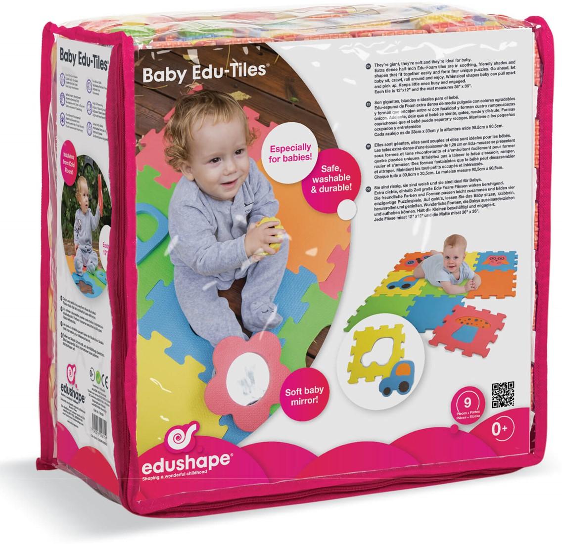 Edushape Baby Edu Tiles High Quality Toys