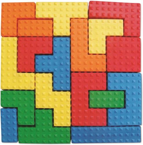 Edushape Sensorische Puzzel Blokken
